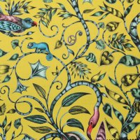 Clarke and Clarke - Rousseau Lime fabric
